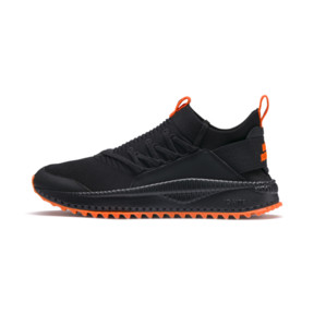 Thumbnail 1 of PUMA x ATELIER NEW REGIME TSUGI Jun Trainers, Puma Black-Scarlet Ibis, medium