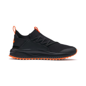 Thumbnail 5 of PUMA x ATELIER NEW REGIME TSUGI Jun Trainers, Puma Black-Scarlet Ibis, medium