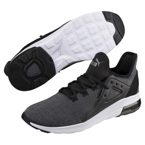Zapatos deportivos Electron Street Knit, Puma Black-Iron Gate, grande