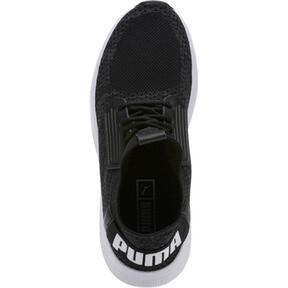 Thumbnail 5 of Uprise Knit Men's Sneakers, Black-Iron Gate-White, medium