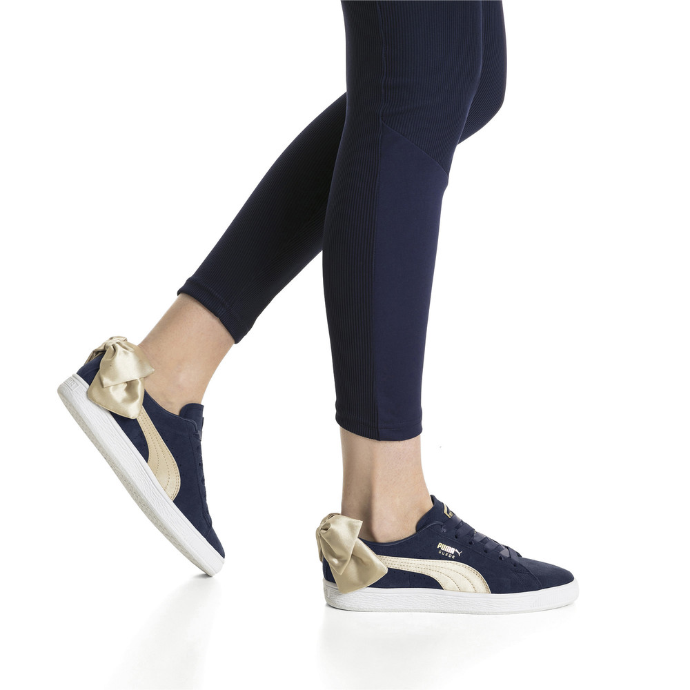 Image PUMA Suede Bow Varsity Women's Sneakers #2