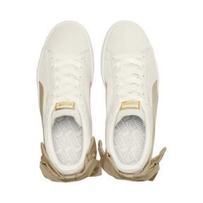 Imagen en miniatura 6 de Zapatillas Suede Bow Varsity de mujer, Marshmallow-Metallic Gold, mediana