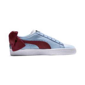 Thumbnail 5 of Basket Bow New School Women's Sneakers, P.White-CERULEAN-Pomegranate, medium