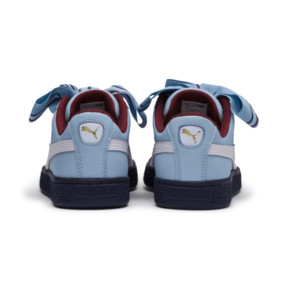 Thumbnail 4 of Basket Heart New School Women's Trainers, CERULEAN-CERULEAN, medium