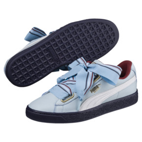 Thumbnail 2 of Basket Heart New School Women's Sneakers, CERULEAN-CERULEAN, medium
