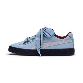 Thumbnail 1 of Basket Heart New School Women's Trainers, CERULEAN-CERULEAN, medium