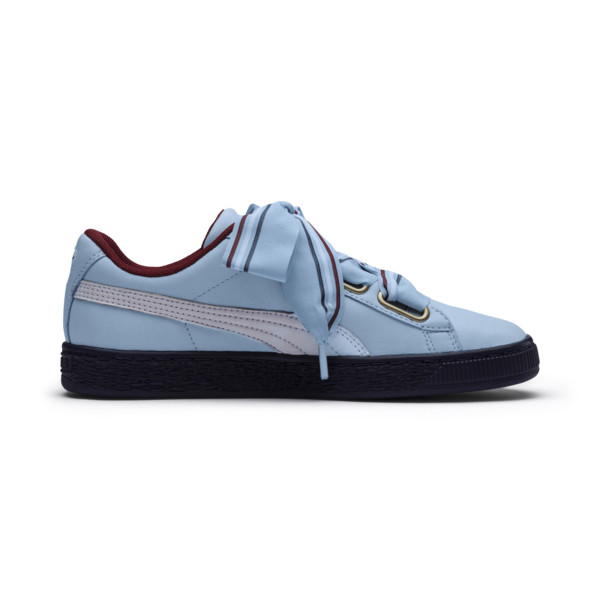 Basket Heart New School Women's Trainers, CERULEAN-CERULEAN, large