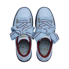 Thumbnail 6 of Basket Heart New School Women's Trainers, CERULEAN-CERULEAN, medium