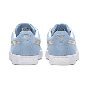 Thumbnail 4 of Suede Varsity Women's Sneakers, CERULEAN-Puma White, medium
