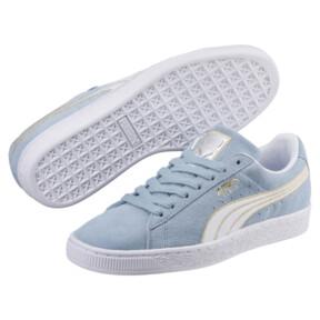 Thumbnail 2 of Suede Varsity Women's Sneakers, CERULEAN-Puma White, medium