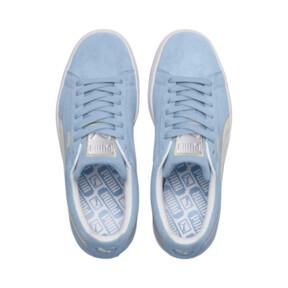 Thumbnail 6 of Suede Varsity Women's Sneakers, CERULEAN-Puma White, medium