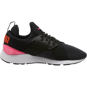 Thumbnail 3 of Muse Chase Women's Sneakers, Puma Black-KNOCKOUT PINK, medium