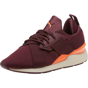 Thumbnail 1 of Muse Chase Women's Sneakers, Fig-Shocking Orange, medium