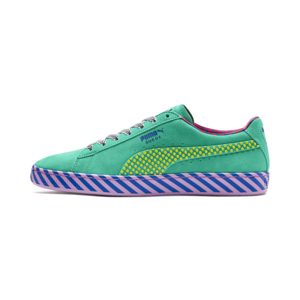 SUEDE CLASSIC Pop Culture, Biscay Green-Vibrant Yellow, large-JPN