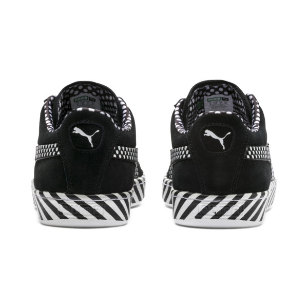 Suede Classic Pop Culture Trainers, Puma Black-Puma White, large