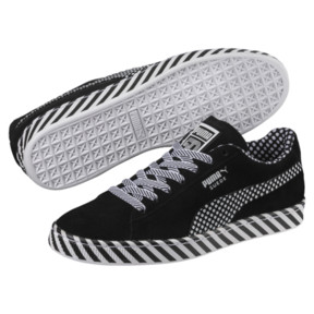 Thumbnail 2 of Suede Classic Pop Culture Trainers, Puma Black-Puma White, medium