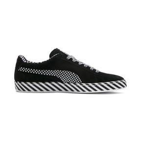 Thumbnail 5 of Suede Classic Pop Culture Trainers, Puma Black-Puma White, medium