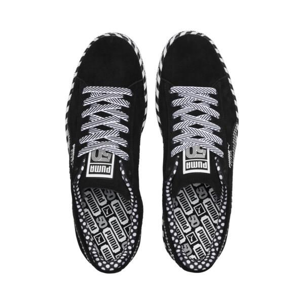 Suede Classic Pop Culture Sneakers, Puma Black-Puma White, large