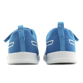 Thumbnail 3 of キッズ プーマ カリ V PS (17-21cm), Indigo Bunting-Puma White, medium-JPN
