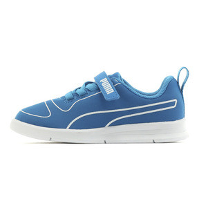 Thumbnail 1 of キッズ プーマ カリ V PS (17-21cm), Indigo Bunting-Puma White, medium-JPN