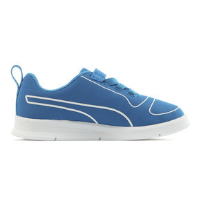 Thumbnail 5 of キッズ プーマ カリ V PS (17-21cm), Indigo Bunting-Puma White, medium-JPN