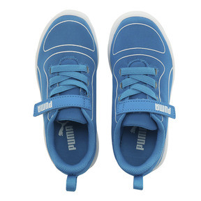Thumbnail 6 of キッズ プーマ カリ V PS (17-21cm), Indigo Bunting-Puma White, medium-JPN