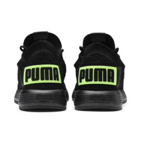 Thumbnail 4 of Uprise Color Shift JR  Sneakers, Puma Black-Limepunch, medium