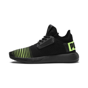 Thumbnail 1 of Uprise Color Shift JR  Sneakers, Puma Black-Limepunch, medium