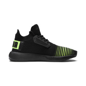 Thumbnail 5 of Uprise Color Shift JR  Sneakers, Puma Black-Limepunch, medium
