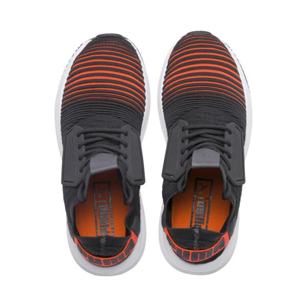 Uprise Color Shift JR  Sneakers, Iron Gate-Orange-White, large