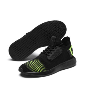 Thumbnail 2 of Uprise Color Shift Men's Sneakers, Black-Limepunch, medium