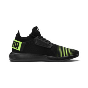 Thumbnail 5 of Uprise Color Shift Men's Sneakers, Black-Limepunch, medium