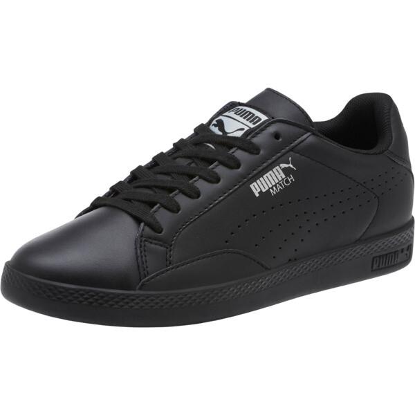 Match 74 Women's Sneakers, Puma Black-Puma Silver, large