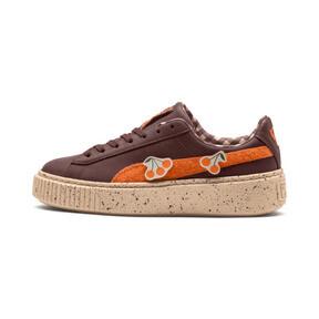 Thumbnail 1 of PUMA X TINYCOTTONS Basket Platform JR Sneakers, 01, medium