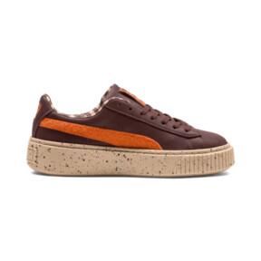 Thumbnail 5 of PUMA X TINYCOTTONS Basket Platform JR Sneakers, 01, medium
