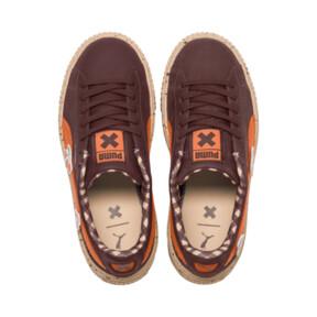 Thumbnail 6 of PUMA X TINYCOTTONS Basket Platform JR Sneakers, 01, medium