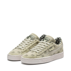 Thumbnail 2 of PUMA X TINYCOTTONS Suede JR, Alfalfa-Thyme-Birch, medium