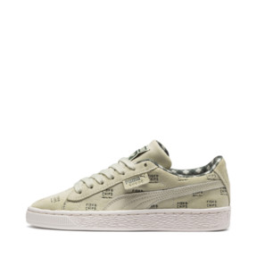 Thumbnail 1 of PUMA X TINYCOTTONS Suede JR, Alfalfa-Thyme-Birch, medium