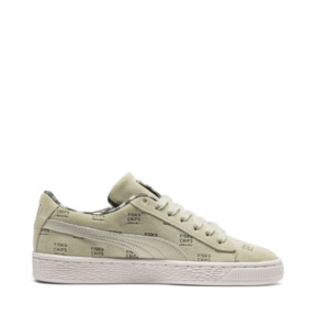Thumbnail 5 of PUMA X TINYCOTTONS Suede JR, Alfalfa-Thyme-Birch, medium