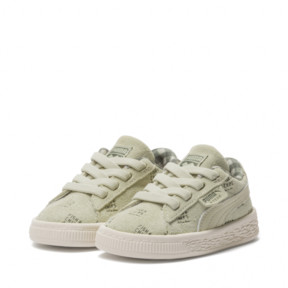 Thumbnail 2 of PUMA X TINYCOTTONS Suede INF, Alfalfa-Thyme-Birch, medium