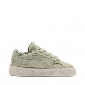 Thumbnail 5 of PUMA X TINYCOTTONS Suede INF, Alfalfa-Thyme-Birch, medium