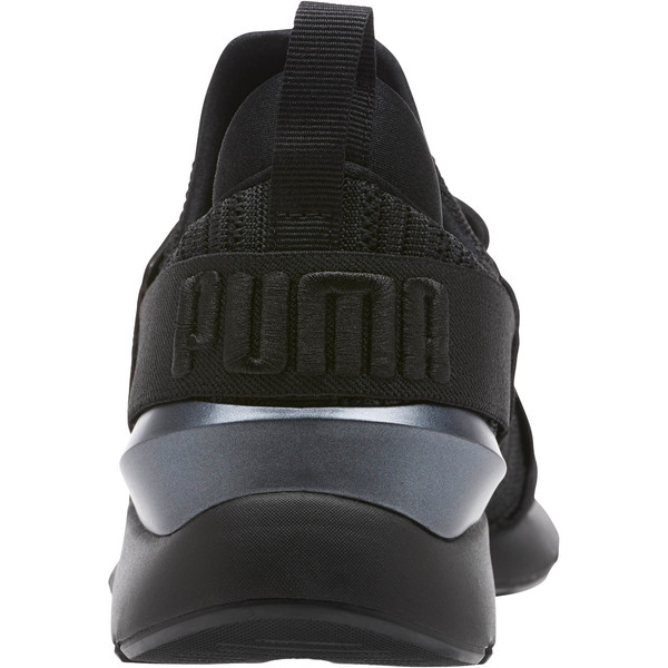 Muse Knit Women's Sneakers, Iron Gate-Puma Black, large