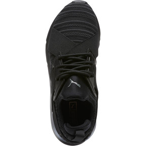 Thumbnail 5 of Muse Knit Women's Sneakers, Iron Gate-Puma Black, medium