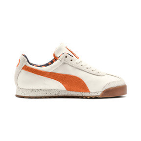 Thumbnail 5 of PUMA X TINYCOTTONS Roma JR Sneakers, White Asparagus-Orange-Blue, medium
