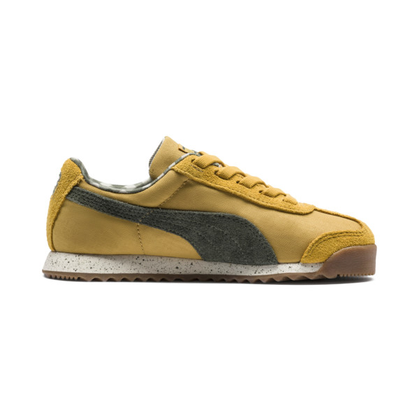 PUMA x TINYCOTTONS Roma LDN sportschoenen voor peuters, Arrowwood-Thyme-White, large