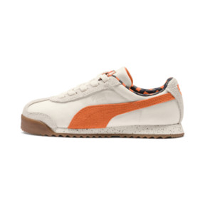 Thumbnail 1 of PUMA X TINYCOTTONS Roma Preschool Sneakers, White Asparagus-Orange-Blue, medium