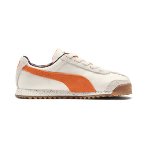 Thumbnail 5 of PUMA X TINYCOTTONS Roma Preschool Sneakers, White Asparagus-Orange-Blue, medium