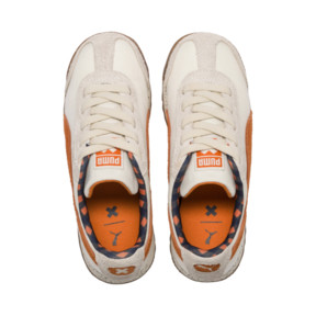 Thumbnail 6 of PUMA X TINYCOTTONS Roma Preschool Sneakers, White Asparagus-Orange-Blue, medium