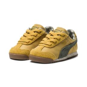 Thumbnail 2 of PUMA X TINYCOTTONS Roma Infant Sneakers, Arrowwood-Thyme-White, medium