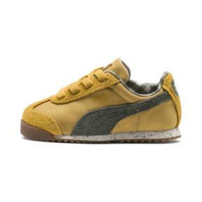 Thumbnail 1 of PUMA X TINYCOTTONS Roma Infant Sneakers, Arrowwood-Thyme-White, medium